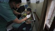FOTO: Serangan Balasan Israel Bunuh 9 Anak Palestina