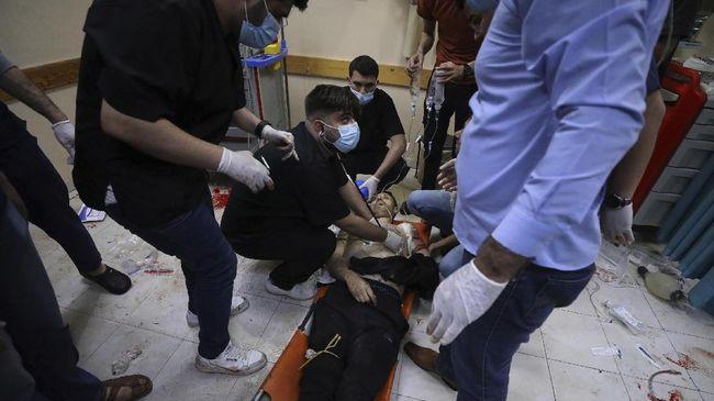 Israel terus bombardir Jalur Gaza sampai Palestina minta dukungan Indonesia.