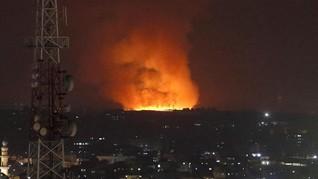 Serangan Balasan ke Jalur Gaza, Israel Sebut Bunuh 15 Militan