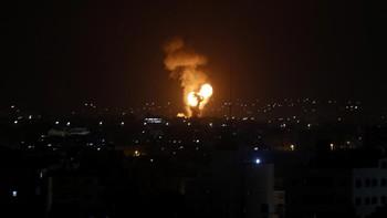 Rentetan Hujan Roket Hamas Gempur Israel