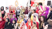 <p>Tema yang diusung ini ala India, lho. Setiap tamu yang hadir diupayakan untuk datang dengan mengenakan pakaian tradisional India. (Foto: YouTube: MIFTAH ARMIA)</p>