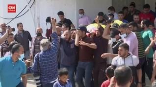 VIDEO: Tangis di Pemakaman Bocah Gaza Korban Serangan Israel