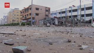 VIDEO: Melihat Kerusakan Gaza Setelah Dihantam Roket Israel
