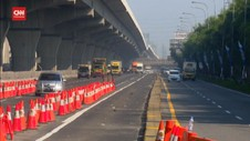 VIDEO: Jumlah Kendaraan Di Tol Cikampek Menurun