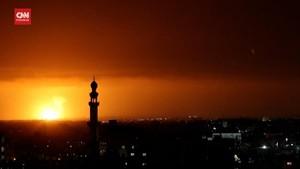 VIDEO: Detik-detik Roket Hamas Hujani Israel