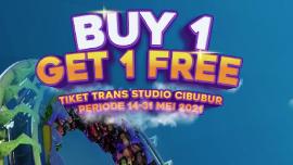 Libur Lebaran, Trans Studio Cibubur Promo Buy 1 Get 1 Free