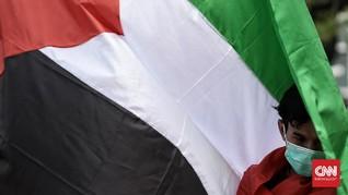 FOTO: Aksi Mahasiswa Islam Bela Palestina