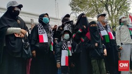 Aksi Peduli Palestina Kecam Serangan di Al-Aqsa