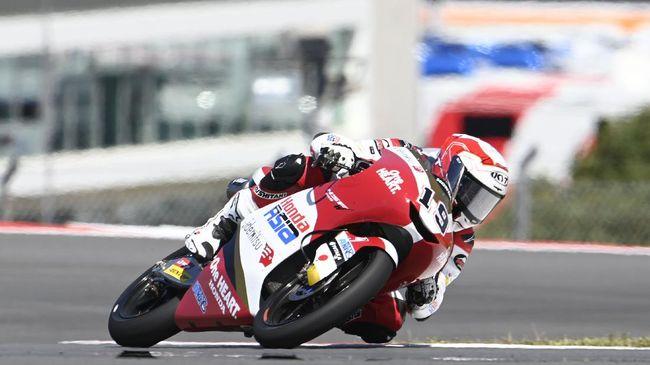 Pembalap Indonesia Andi Gilang mendapat hukuman penurunan enam posisi start pada balapan Moto3 Prancis 2021 yang akan digelar di Sirkuit Le Mans.