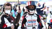Andi Gilang: Bayar Fidiah Demi Meraih Prestasi di Moto3