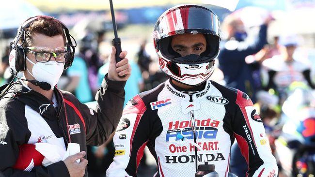 Pembalap Indonesia Andi Gilang meraih poin di MotoGP Jerman 2021, begitu pula dengan sejumlah pembalap yang membela tim Indonesia.
