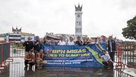 Asah Mental, Tim BPH Migas Tempuh Jalan Darat ke Sumatera