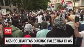 VIDEO: Aksi Solidaritas Dukung Palestina di AS & Inggris