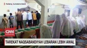 VIDEO: Tarekat Naqsabandiyah & An Nadzir Lebaran Lebih Awal