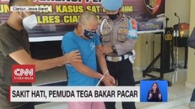 VIDEO: Motif Pemuda di Cianjur Tega Bakar Pacar