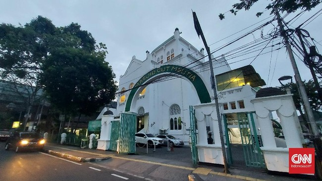 Masjid Cut Meutia Antisipasi Lonjakan Jemaah Salat Id