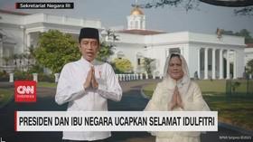 VIDEO: Presiden dan Ibu Negara Ucapkan Selamat Idulfitri