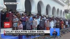 VIDEO: Pondok Pesantren Salafiyah Syafiiyah Salat Id Hari Ini