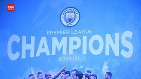 VIDEO: Manchester City Juara Liga Inggris, Pendukung Berpesta