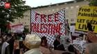 VIDEO: Unjuk Rasa Tuntut Pemerintah AS Beri Sanksi Israel
