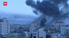 VIDEO: Jet-jet Tempur Israel Gempur Palestina