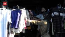 VIDEO: Jelang Lebaran, Baju Bekas Impor Diburu Pembeli