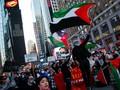 FOTO: Dukungan Pro Palestina dari Jalanan Amerika
