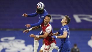 FOTO: Chelsea Dipecundangi Arsenal di Liga Inggris