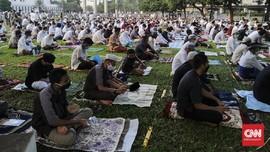 Kisah Jemaah Masjid Al Azhar yang Tak Khawatir Salat Ied