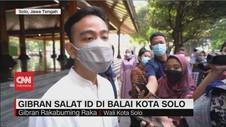 VIDEO: Gibran Salat Id di Balai Kota Solo