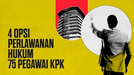 INFOGRAFIS: 4 Opsi Perlawanan Hukum 75 Pegawai KPK