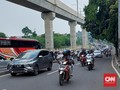 Lebaran Pertama, Sejumlah Jalan di Jakarta dan Depok Macet