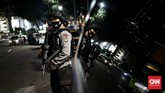 Suasana malam takbiran Idulfitri 1442 H masih terasa di Jakarta walau tak seramai biasanya.