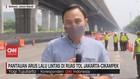 VIDEO: Pantauan Arus Lalu Lintas Di Ruas Tol Jakarta-Cikampek