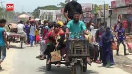 VIDEO: Ramai-ramai Warga Bangladesh Mudik ke Kampung Halaman
