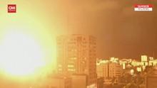VIDEO: Gaza Kembali Diguncang Gempuran Israel