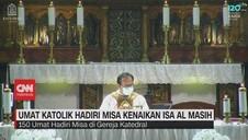 VIDEO: Umat Katolik Hadiri Misa Kenaikan Isa Al Masih