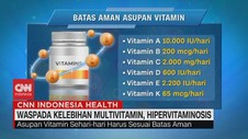 VIDEO: Pintar Mengkonsumsi Multivitamin