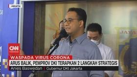 VIDEO: Arus Balik, Pemprov DKI Terapkan 2 Langkah Strategis