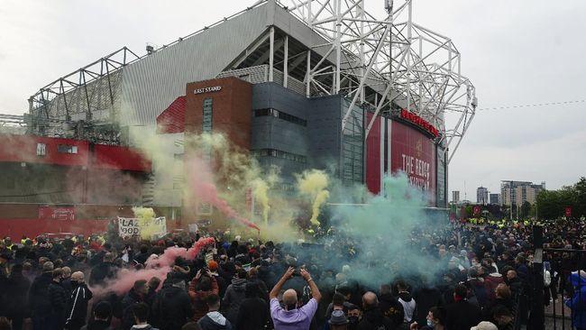 Ole Gunnar Solskjaer membantah Man Utd kalah dari Liverpool karena demo yang dilakukan ratusan suporter sebelum laga di Stadion Old Trafford.