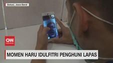 VIDEO: Momen Haru Idulfitri Penghuni Lapas