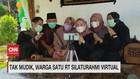 VIDEO: Tak Mudik, Warga Satu RT Silahturahmi Virtual