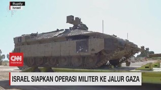 VIDEO: Israel Siapkan Operasi Militer ke Jalur Gaza