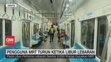 VIDEO: Pengguna MRT Turun Ketika Libur Lebaran
