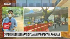 VIDEO: Suasana Libur Lebaran di Taman Margasatwa Ragunan