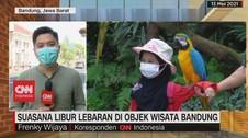 VIDEO: Suasana Libur Lebaran di Objek Wisata Bandung