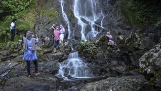 FOTO: Ramai Tempat Wisata di Daerah Saat Libur Lebaran