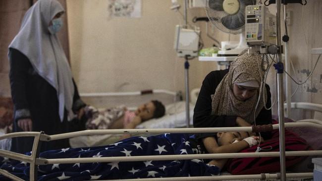 FOTO: RS Gaza Berjuang Lawan Corona dan Luka Perang