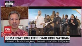 VIDEO: Semangat Idulfitri Dari KBRI Vatikan