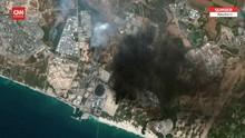 VIDEO: Kerusakan Gaza dari Lensa Citra Satelit